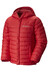 Columbia Powder Lite Puffer Boys Mountain Red